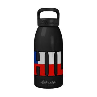 Botella de agua de Chile
