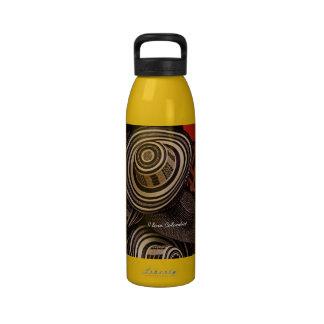 Botella de agua de Colombia