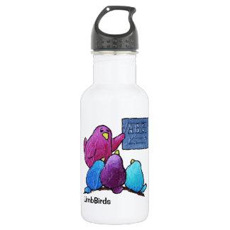 Botella de agua de encargo de LimbBirds (18
