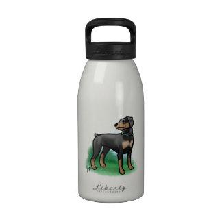 Botella de agua de encargo de Óscar
