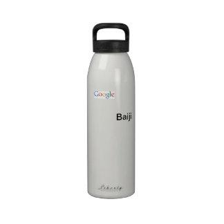 Botella de agua de Google Baiji