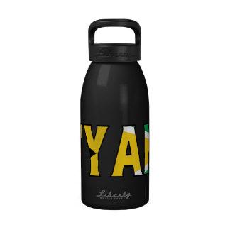 Botella de agua de Guyana