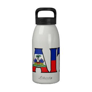 Botella de agua de Haití