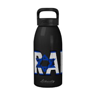 Botella de agua de Israel