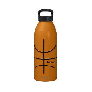 Botella de agua de la bola del baloncesto