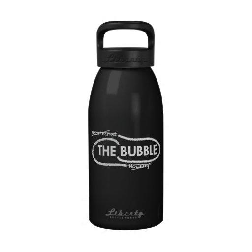 "Botella de agua ""de la burbuja"""