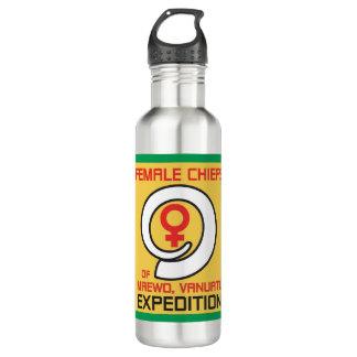 Botella de agua de la expedición