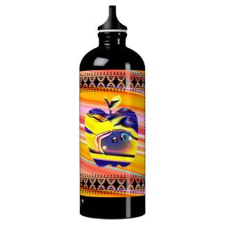 Botella de agua de la felicidad de la sol