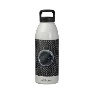 Botella de agua de la fibra de carbono