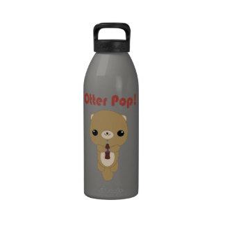 Botella de agua de la gaseosa de la nutria de Kawa
