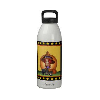 Botella de agua de la hidración de la bruja descar