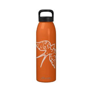 Botella de agua de la justicia