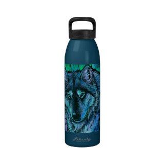Botella de agua de la libertad de la aurora del lo