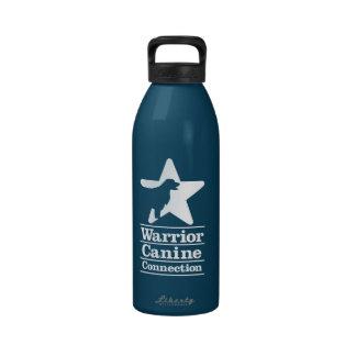Botella de agua de la marina de guerra de WCC