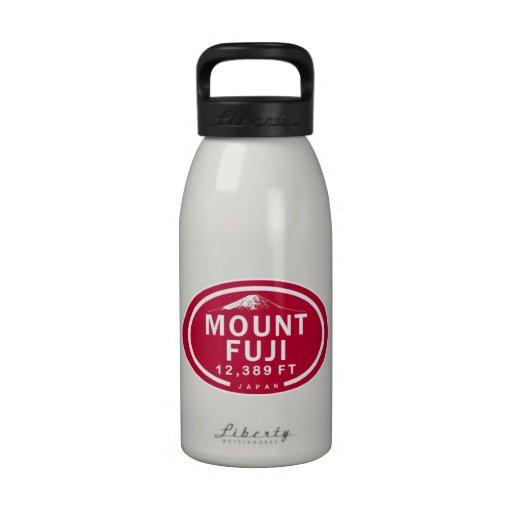 Botella de agua de la montaña del monte Fuji 12.38