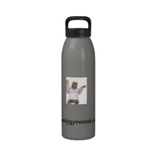 Botella de agua de la pereza del gimnasio de VGS