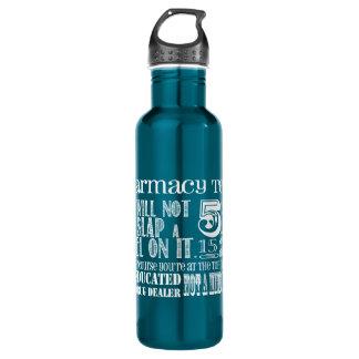 Botella de agua de la tecnología de la farmacia