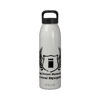 Botella de agua de las empresas del punto fuerte