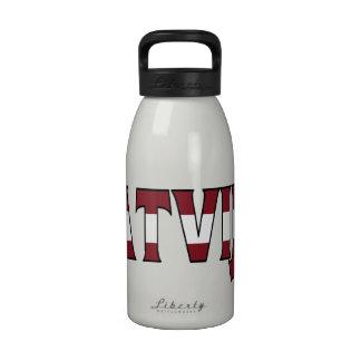 Botella de agua de Letonia