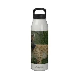 Botella de agua de los Hyenas de risa