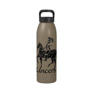 Botella de agua de los lanceros