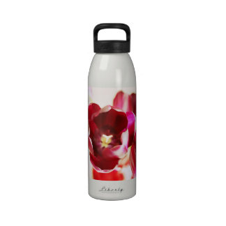 """Botella de agua de los """"tulipanes"""""""