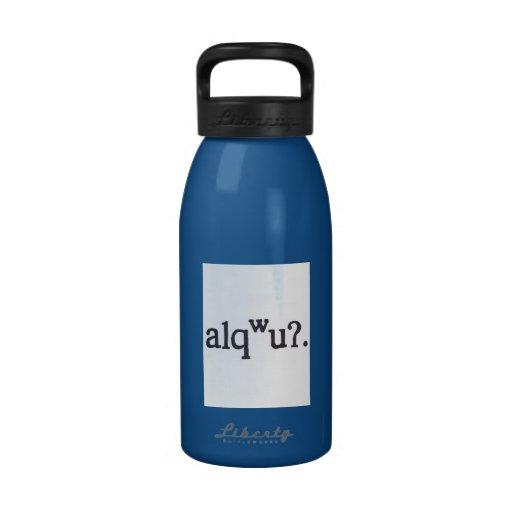 Botella de agua de Lushootseed