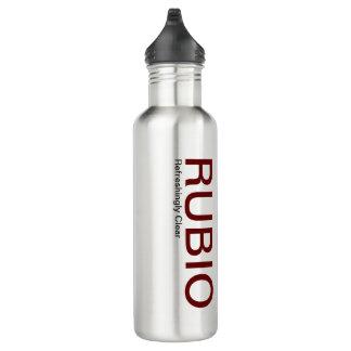 Botella de agua de Marco Rubio, de forma