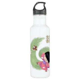 Botella de agua de Misaki
