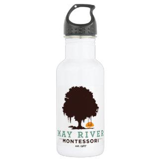 Botella de agua de Montessori del río de mayo