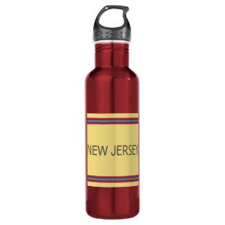 Botella de agua de New Jersey