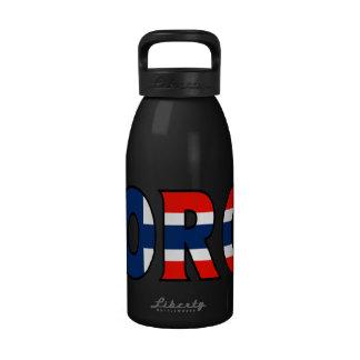 Botella de agua de Noruega
