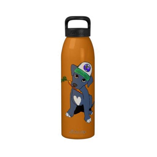 Botella de agua de Pittie de la tierra
