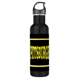 Botella de agua de Pittsburgh (24 onzas)