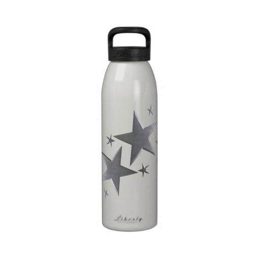 Botella de agua de plata de la libertad de la estr
