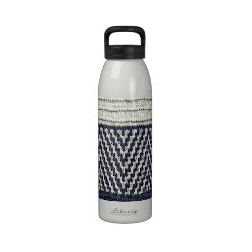botella de agua de punto del wb Artisanware