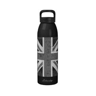 Botella de agua de Reino Unido 2 de la bandera de