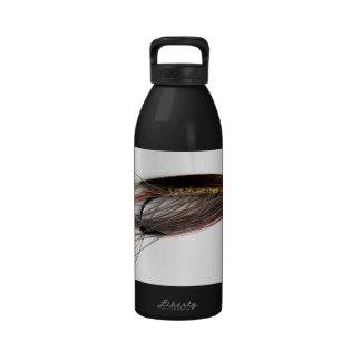 Botella de agua de señora Caroline Salmon Fly