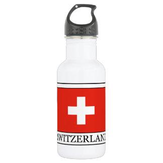 Botella de agua de Suiza