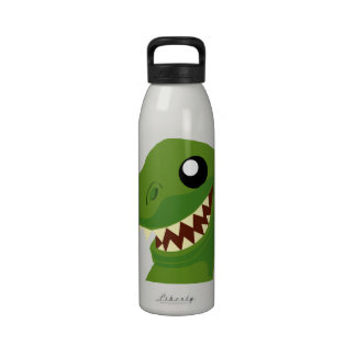Botella de agua de T-Rex