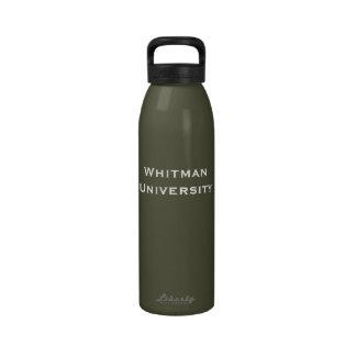 Botella de agua de WU