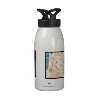 Botella de agua del aluminio de la foto de Instagr