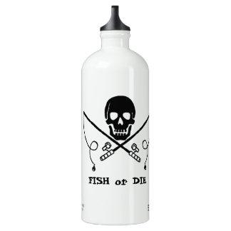 Botella de agua del aluminio de la pesca del