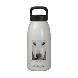 Botella de agua del aluminio de White Wolf
