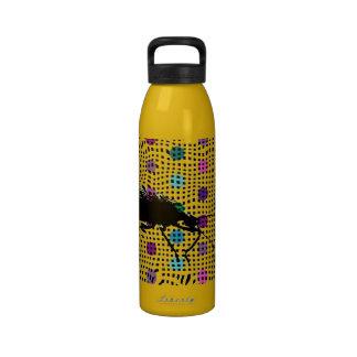 Botella de agua del arte pop del escarabajo del