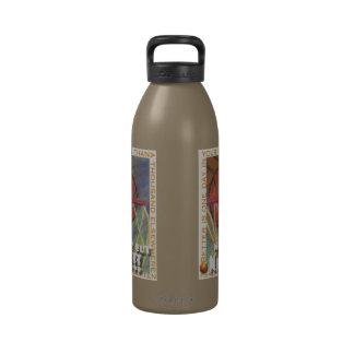 Botella de agua del baloncesto