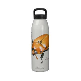 Botella de agua del ~ del escarabajo de la vid