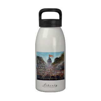 Botella de agua del detalle del centro municipal d