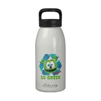 Botella de agua del Día de la Tierra de Gummibär (