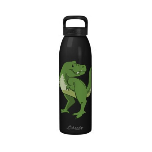 Botella de agua del dibujo animado de Rex del Tyra